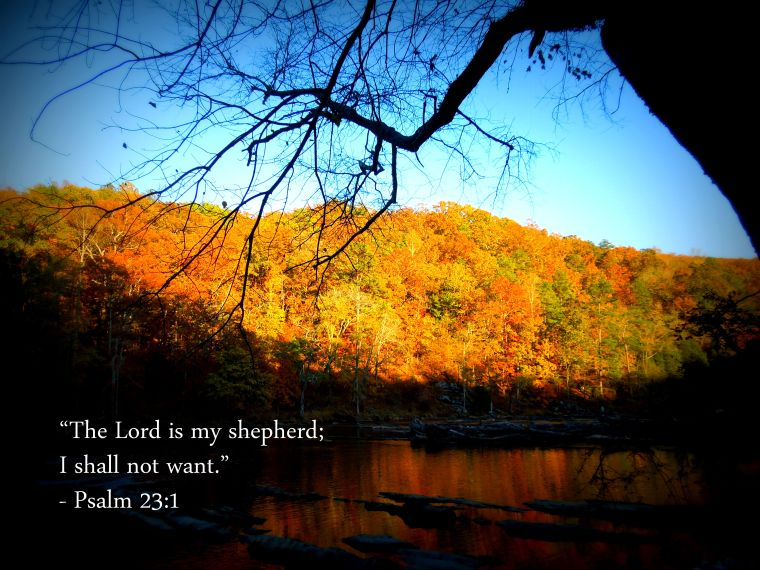 Sweetwater Creek_Psalm 23