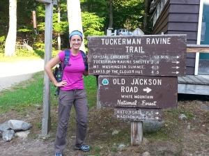 Tuckerman Trail Head Photo credit: Dave